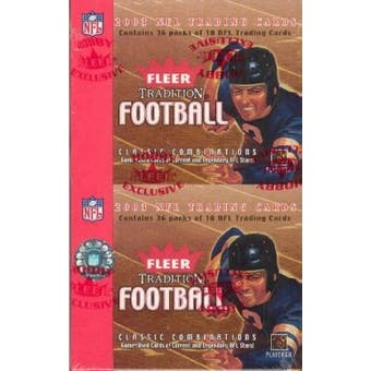 2003 Fleer Tradition Football Hobby Box