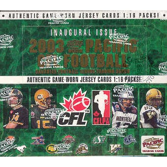 2003 Pacific CFL Football Hobby Box