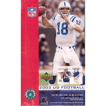 2003 Upper Deck Football Hobby Box
