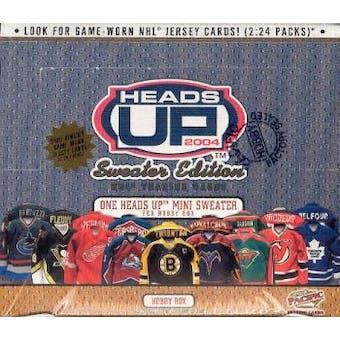 2003/04 Pacific Heads Up Hockey Hobby Box