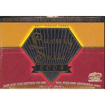 2003/04 Pacific Luxury Suite Hockey Hobby Box