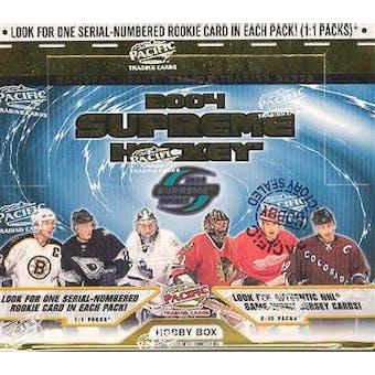 2003/04 Pacific Supreme Hockey Hobby Box
