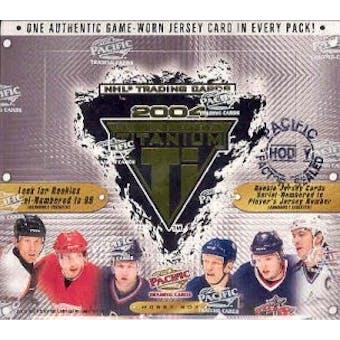 2003/04 Pacific Titanium Hockey Hobby Box