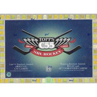 2003/04 Topps C55 Hockey Hobby Box