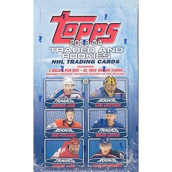 2003/04 Topps Rookie & Traded Hockey Hobby Box