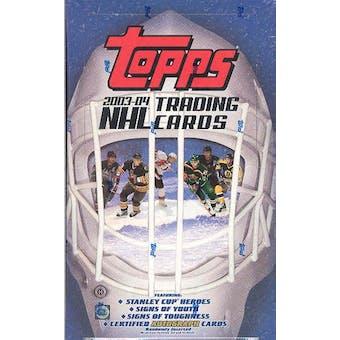 2003/04 Topps Hockey Hobby Box