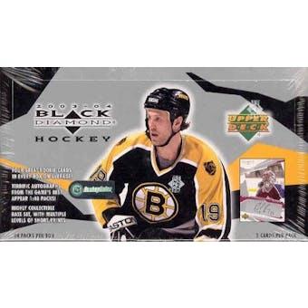2003/04 Upper Deck Black Diamond Hockey Hobby Box