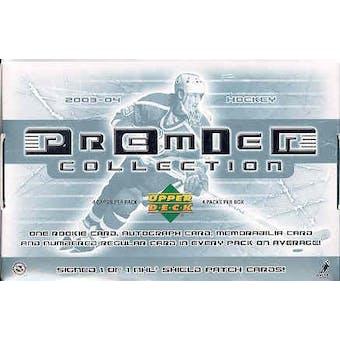 2003/04 Upper Deck Premier Collection Hockey Hobby Box