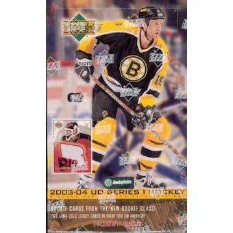 2003/04 Upper Deck Series 1 Hockey Hobby Box