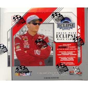 2003 Press Pass Eclipse Racing Hobby Box