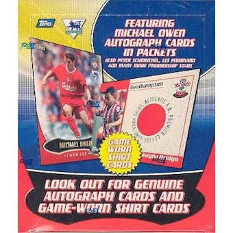 2003 Topps English Premier League Gold Soccer Hobby Box