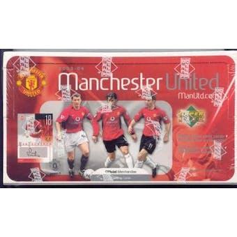 2003 Upper Deck Manchester United Soccer Hobby Box