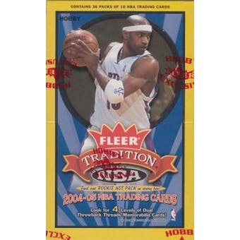 2004/05 Fleer Tradition Basketball Hobby Box