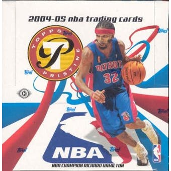 2004/05 Topps Pristine Basketball Hobby Box