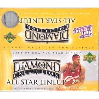 2004/05 Upper Deck All-Star Lineup Basketball 24-Pack Box
