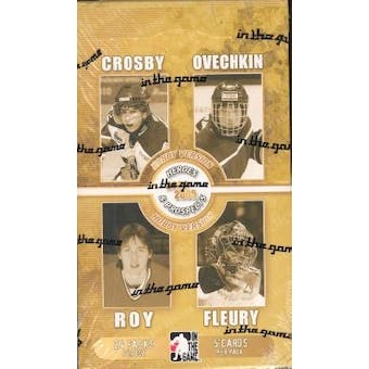 2004/05 In The Game Heroes & Prospects Hockey Hobby Box