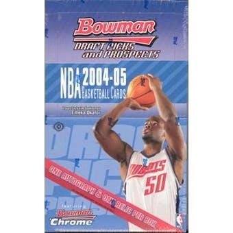 2004/05 Bowman Draft Picks And Prospects Basketball Hobby Box