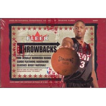2004/05 Fleer Throwbacks Basketball Hobby Box