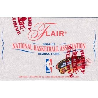 2004/05 Fleer Flair Basketball Hobby Box