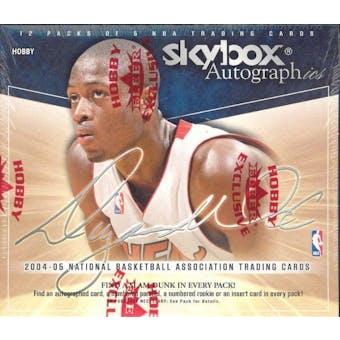 2004/05 Fleer Skybox Autographics Basketball Hobby Box