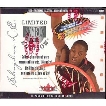 2004/05 Fleer Skybox LE Basketball Hobby Box