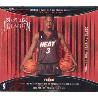 2004/05 Fleer Skybox Premium Basketball Hobby Box