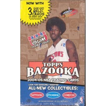2004/05 Topps Bazooka Basketball Hobby Box