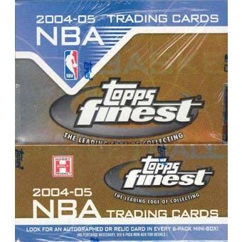 2004/05 Topps Finest Basketball Hobby Box