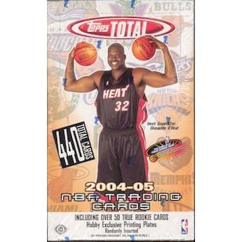 2004/05 Topps Total Basketball Hobby Box