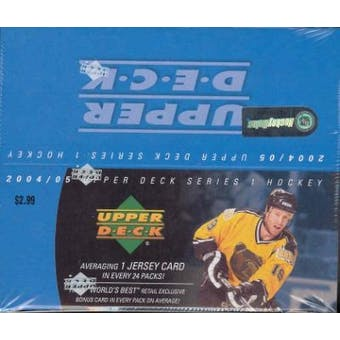 2004/05 Upper Deck Hockey 24 Pack Box