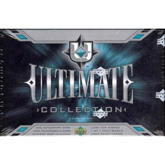 2004/05 Upper Deck Ultimate Collection Hockey Hobby Pack (Box)