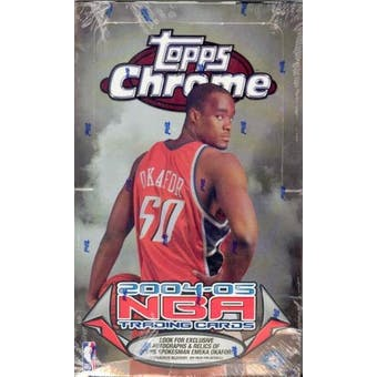 2004/05 Topps Chrome Basketball Hobby Box