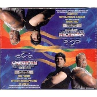 American Chopper 'OCC' Hobby Box (2004 Press Pass)