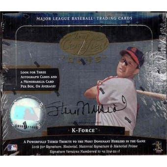 2004 Leaf Certified Cuts Baseball Hobby Box