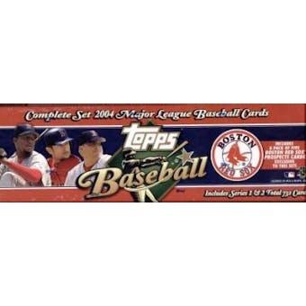 2004 Topps Factory Set Baseball (Box) (Boston Red Sox) - Very Rare!