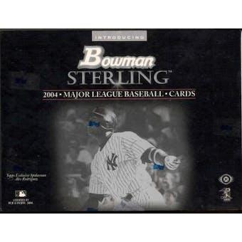 2004 Bowman Sterling Baseball Hobby Box