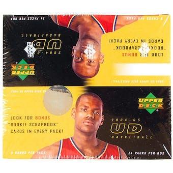 2004/05 Upper Deck Basketball Retail Box