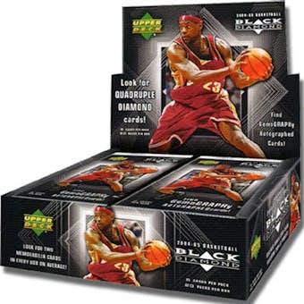 2004/05 Upper Deck Black Diamond Basketball Hobby Box