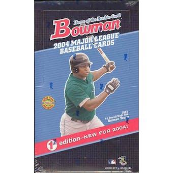 2004 Bowman First Edition Baseball Hobby Box