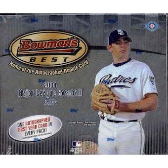 2004 Bowman's Best Baseball Hobby Box