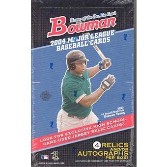 2004 Bowman Baseball Jumbo Box