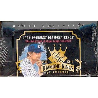 2004 Donruss Diamond Kings Baseball Hobby Box