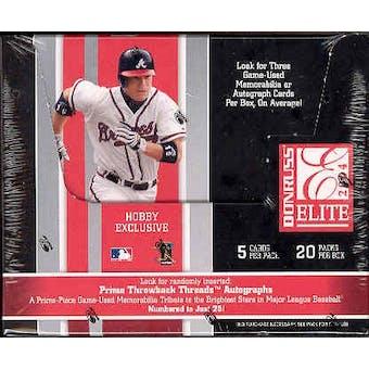 2004 Donruss Elite Baseball Hobby Box