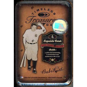 2004 Donruss Timeless Treasures Baseball Hobby Box (Tin)
