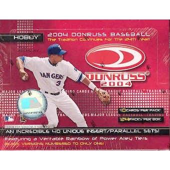2004 Donruss Baseball Hobby Box