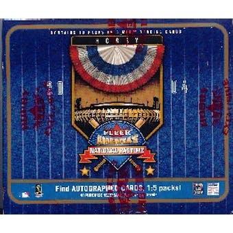2004 Fleer National Pastime Baseball Hobby Box