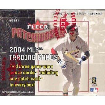 2004 Fleer Patchworks Baseball Hobby Box