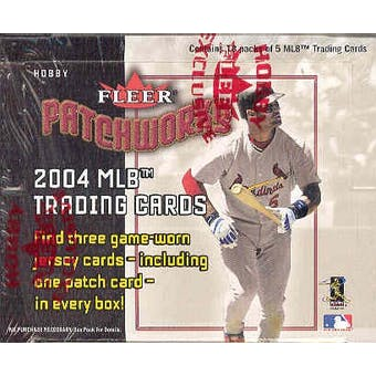 2004 Fleer Patchworks Baseball Hobby Box