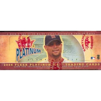 2004 Fleer Platinum Baseball Rack Box