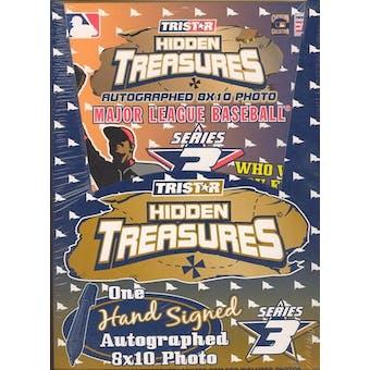 2003 Tristar Hidden Treasures Series 3 Baseball Autographed 8x10s Box